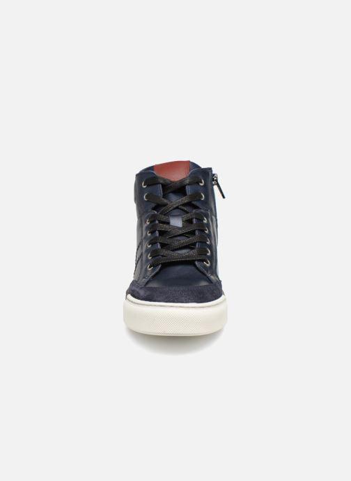 Sneaker I Love Shoes Solido Leather blau schuhe getragen