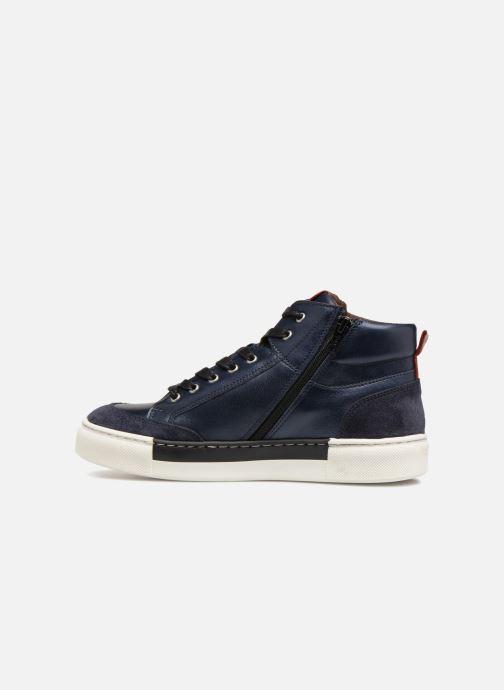 Sneaker I Love Shoes Solido Leather blau ansicht von vorne