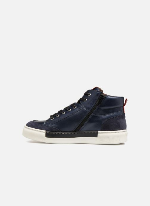 Trainers I Love Shoes Solido Leather Blue front view