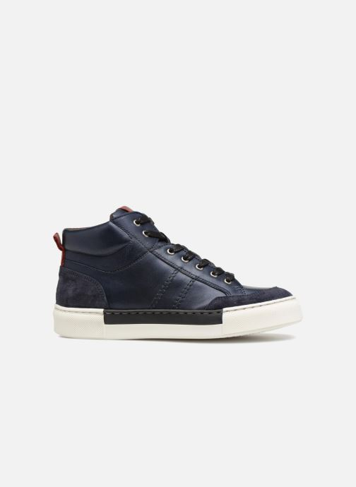 Trainers I Love Shoes Solido Leather Blue back view