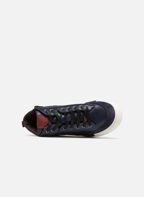 Sneaker I Love Shoes Solido Leather blau ansicht von links