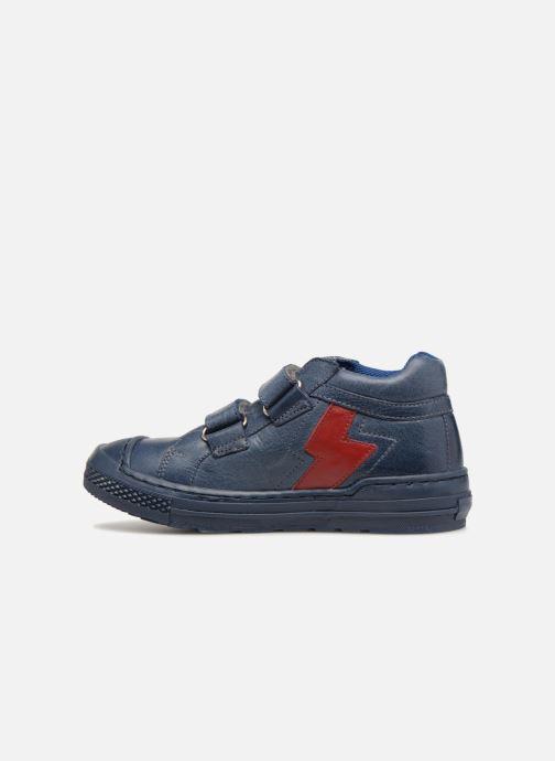 Baskets I Love Shoes Solibam Leather Bleu vue face