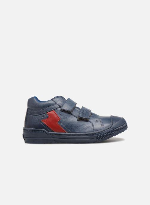 Baskets I Love Shoes Solibam Leather Bleu vue derrière