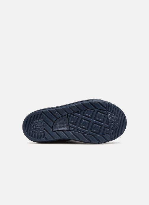 Baskets I Love Shoes Solibam Leather Bleu vue haut