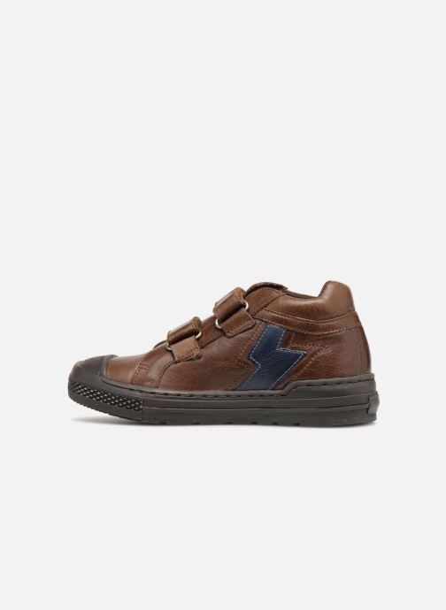 Baskets I Love Shoes Solibam Leather Marron vue face