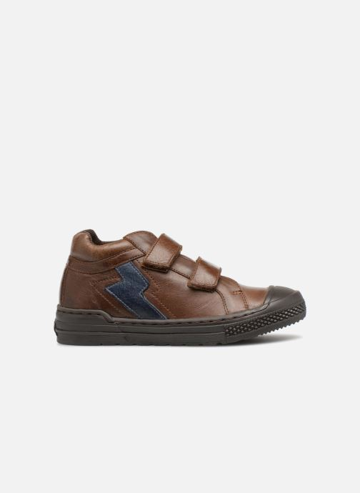 Baskets I Love Shoes Solibam Leather Marron vue derrière