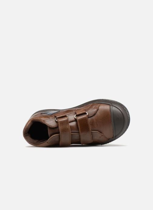 Baskets I Love Shoes Solibam Leather Marron vue gauche