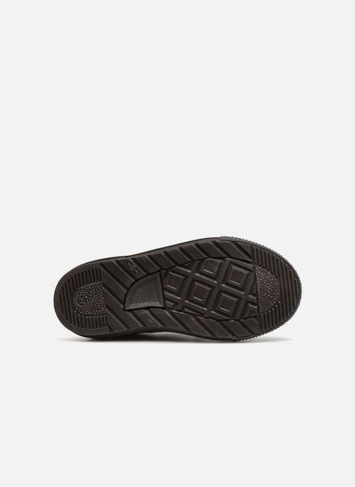 Baskets I Love Shoes Solibam Leather Marron vue haut