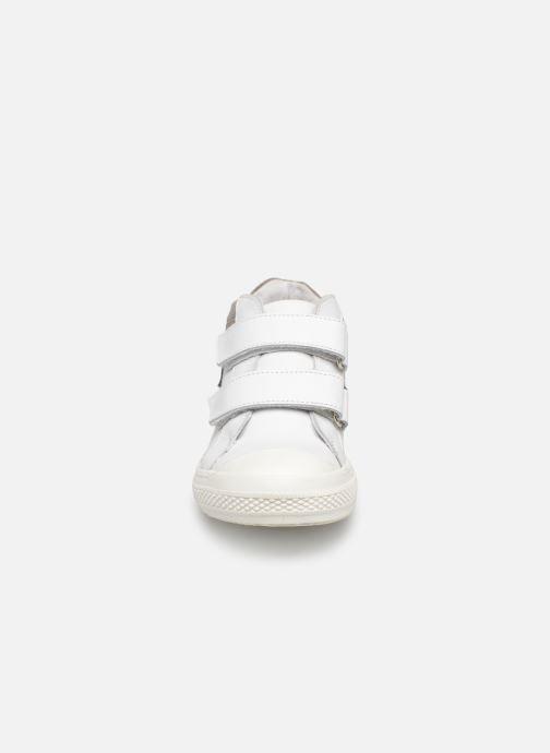 Baskets I Love Shoes Solibam Leather Blanc vue portées chaussures