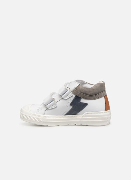 Trainers I Love Shoes Solibam Leather White front view
