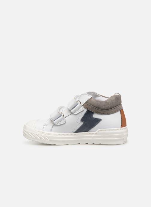 Deportivas I Love Shoes Solibam Leather Blanco vista de frente