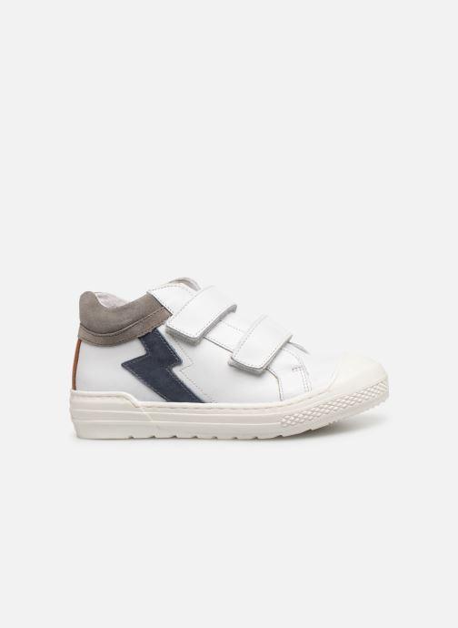 Baskets I Love Shoes Solibam Leather Blanc vue derrière