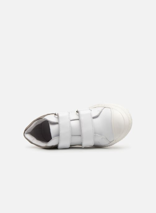 Deportivas I Love Shoes Solibam Leather Blanco vista lateral izquierda