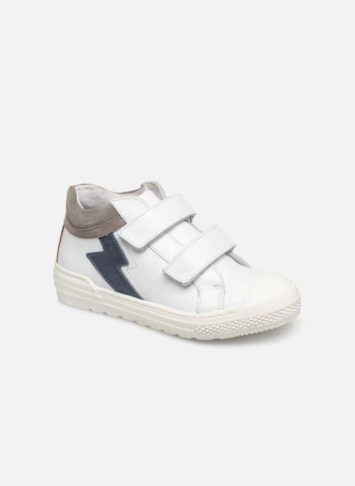 Baskets I Love Shoes Solibam Leather Blanc vue détail/paire