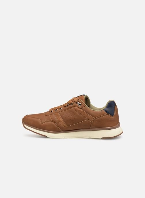 Trainers Kappa Priam Brown front view