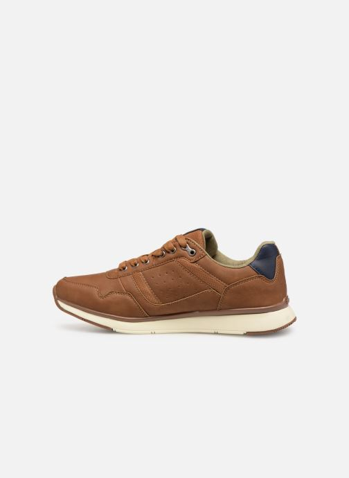Sneakers Kappa Priam Bruin voorkant