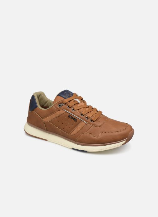Trainers Kappa Priam Brown detailed view/ Pair view