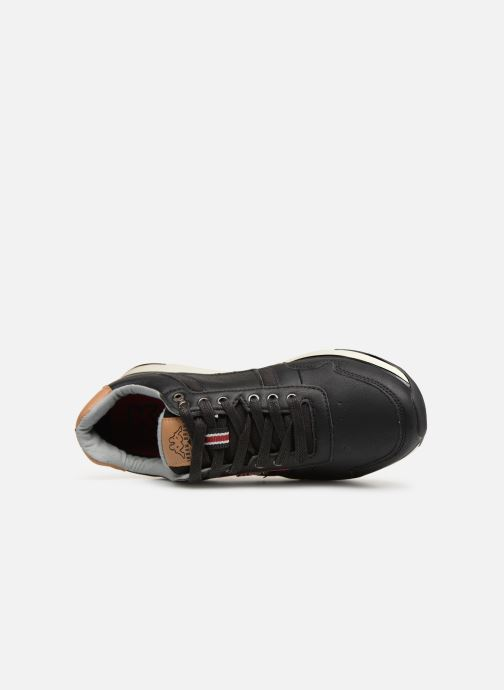 Trainers Kappa Priam Black view from the left