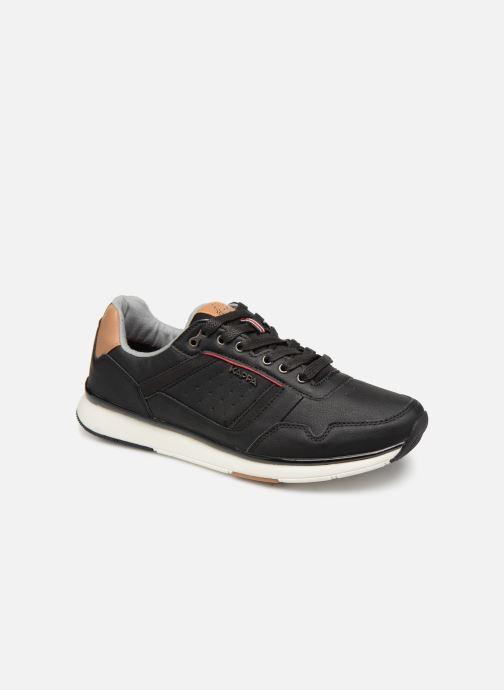Sneakers Kappa Priam Zwart detail