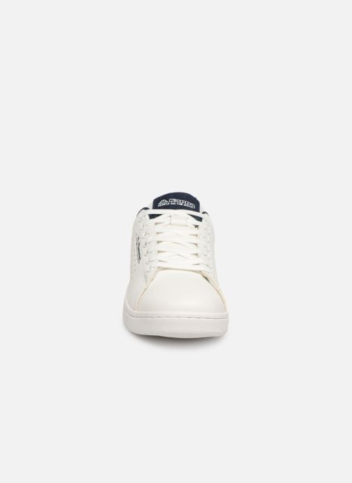 Baskets Kappa Lisboa Blanc vue portées chaussures