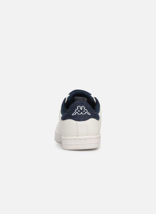 Baskets Kappa Lisboa Blanc vue droite