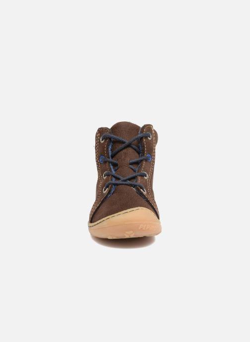 Chaussures à lacets Pepino Georgie Marron vue portées chaussures