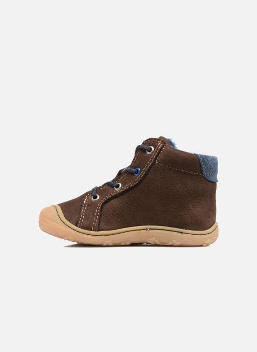 Chaussures à lacets Pepino Georgie Marron vue face