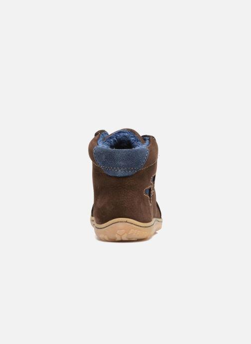 Zapatos con cordones Pepino Georgie Marrón vista lateral derecha
