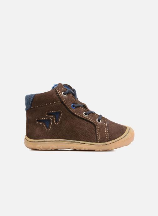 Chaussures à lacets Pepino Georgie Marron vue derrière
