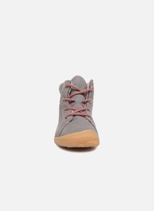 Zapatos con cordones Pepino Georgie Gris vista del modelo