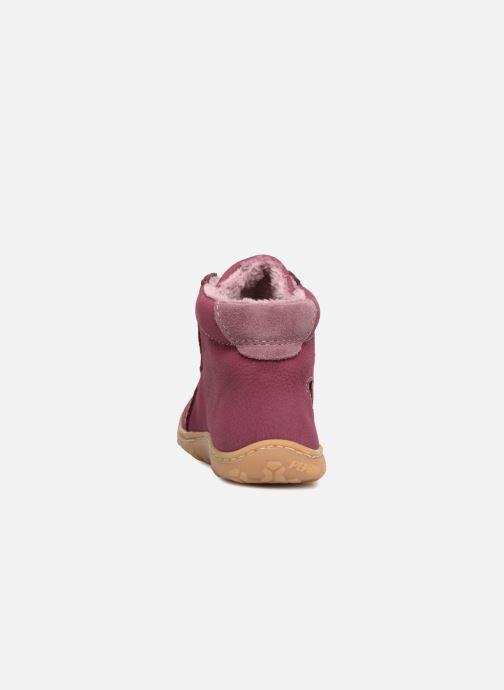 Chaussures à lacets PEPINO Georgie Rose vue droite