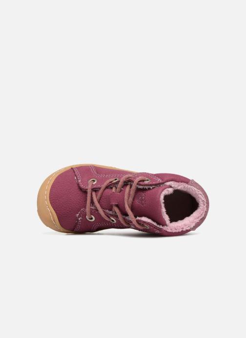 Chaussures à lacets PEPINO Georgie Rose vue gauche