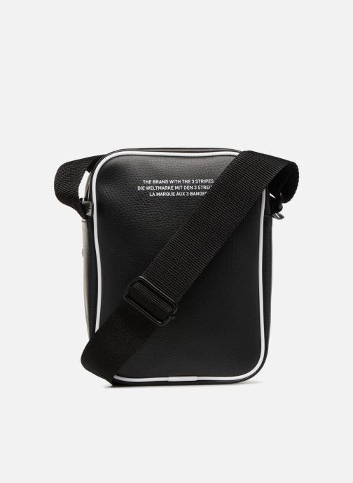 Bolsos de hombre adidas originals MINI BAG VINTAGE Negro vista de frente