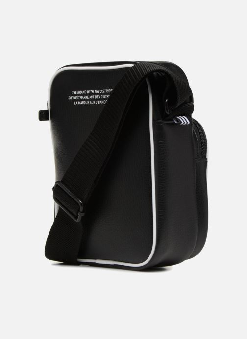 Men's bags adidas originals MINI BAG VINTAGE Black view from the right
