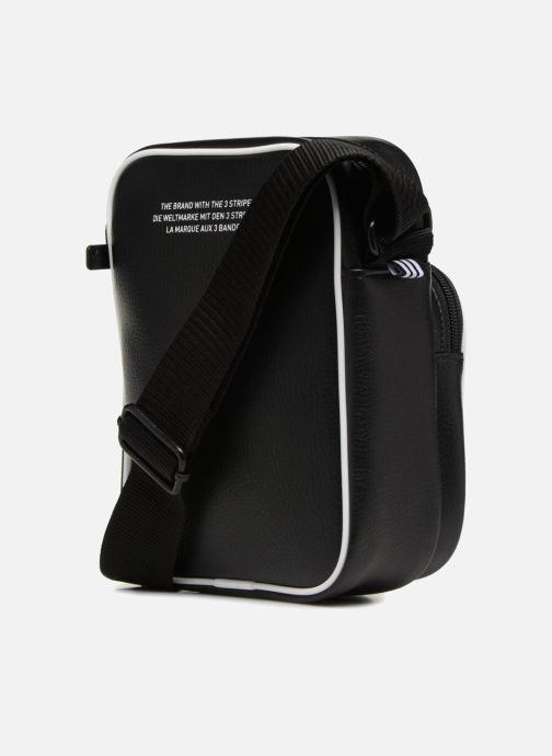 Sacs homme adidas originals MINI BAG VINTAGE Noir vue droite
