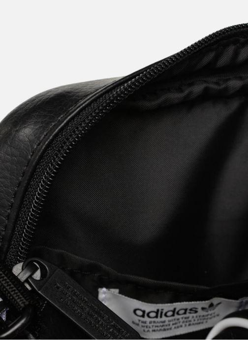 Bolsos de hombre adidas originals MINI BAG VINTAGE Negro vistra trasera