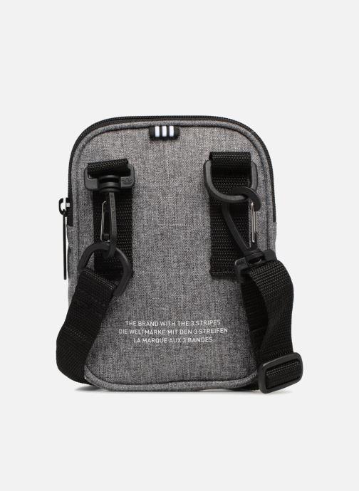 Men's bags adidas originals FEST BAG CASUAL Grey front view
