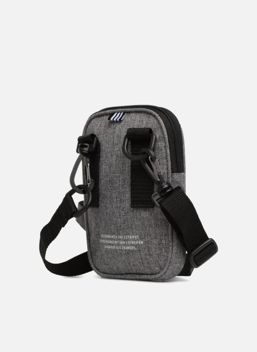 Men's bags adidas originals FEST BAG CASUAL Grey view from the right