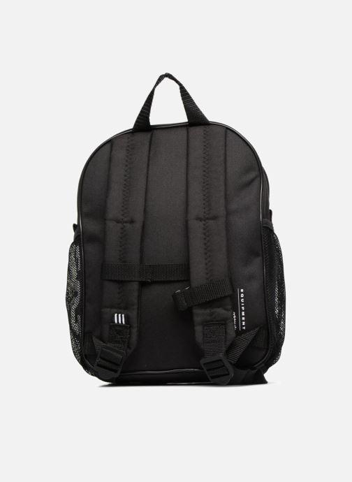 Rucksäcke adidas originals BP EQT INF schwarz ansicht von vorne