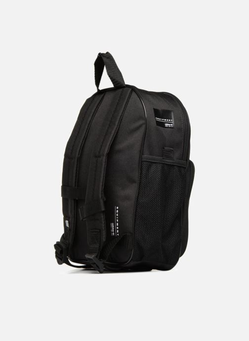 Rucksacks adidas originals BP EQT INF Black view from the right