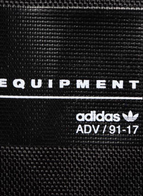 Rucksäcke adidas originals BP EQT INF schwarz ansicht von links
