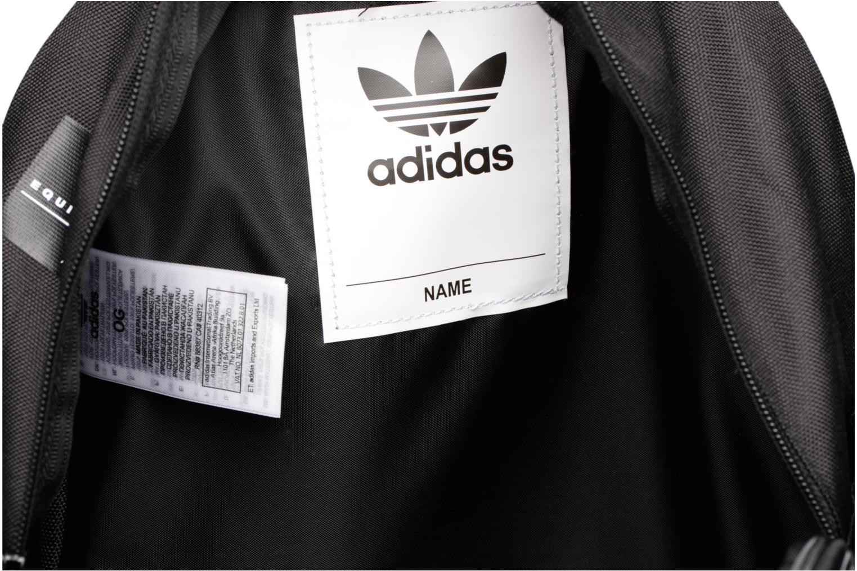 Zaini Adidas Originals BP EQT INF Nero immagine posteriore