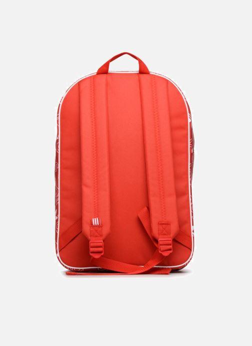 Mochilas adidas originals BP CLASS AC GR Rojo vista de frente