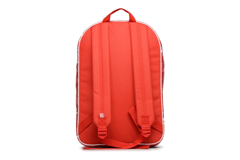 Zaini Adidas Originals BP CLASS AC GR Rosso immagine frontale