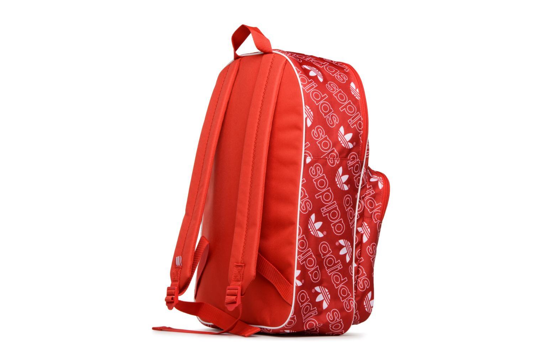 Zaini Adidas Originals BP CLASS AC GR Rosso immagine destra