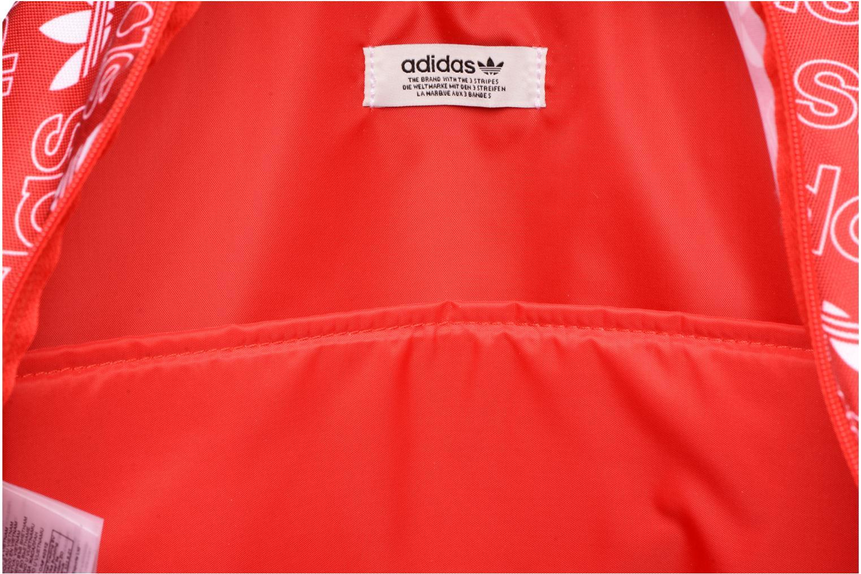 Zaini Adidas Originals BP CLASS AC GR Rosso immagine posteriore
