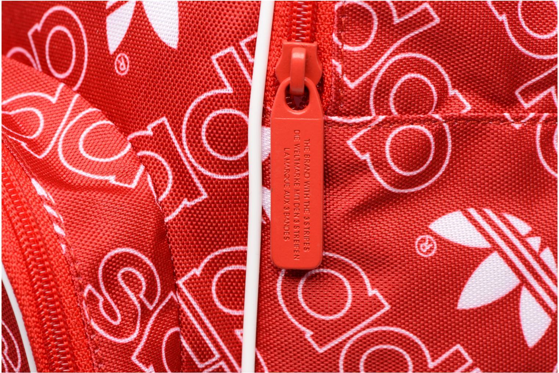 Zaini Adidas Originals BP CLASS AC GR Rosso immagine sinistra