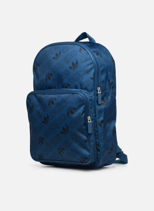 Rucksacks Adidas Originals BP CL M AC GR Blue model view