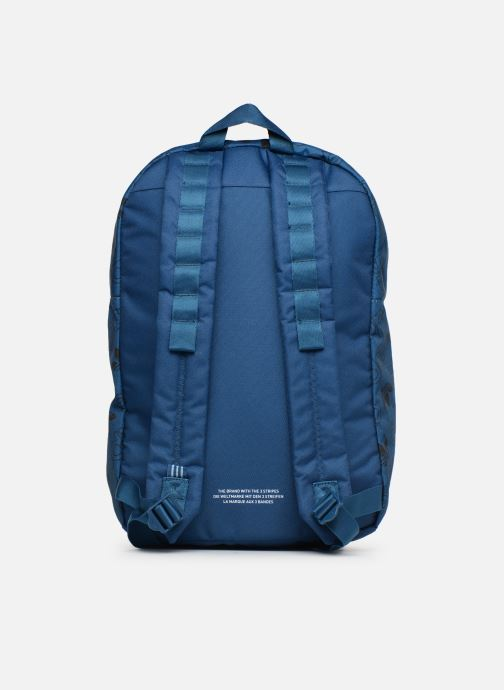 Mochilas adidas originals BP CL M AC GR Azul vista de frente