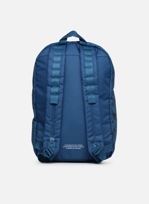 Rucksacks adidas originals BP CL M AC GR Blue front view